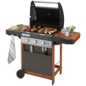 Comment fonctionne un barbecue à gaz?